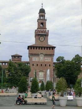 Filarete Tower, Sforza Castle