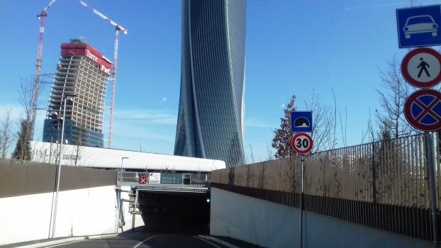CityLife Tunnel western portal