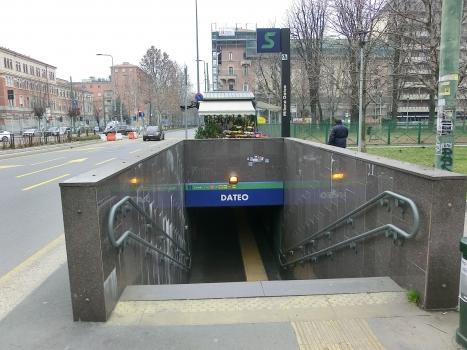 Milano Dateo Station, access