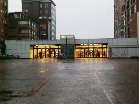 Milano Domodossola FN Station, via Filelfo access