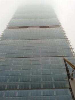 Isozaki tower in 2015