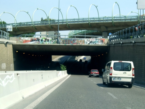 Maggi Tunnel and viaducts