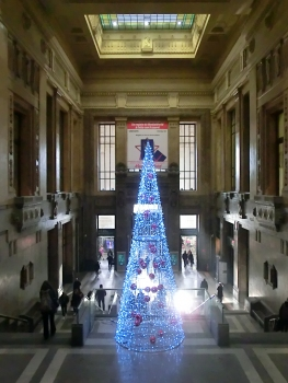 Milan Central Station, hall