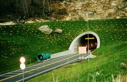 Lærdal Tunnel eastern portal