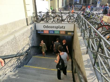 Station de métro Odeonsplatz