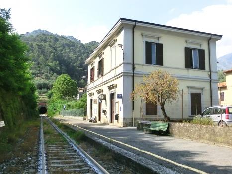 Olivetta San Michele Station and Sardinesca Tunnel southern portal
