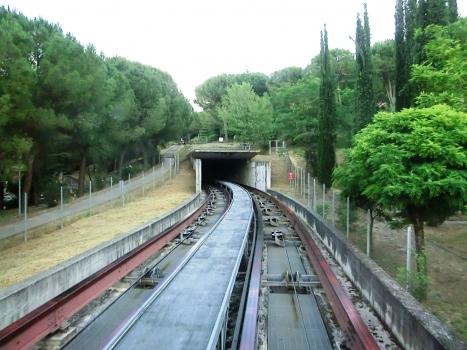 Minimetròtunnel Madonna Alta