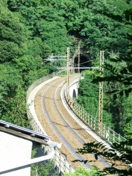 Biscaccia Tunnel western portal
