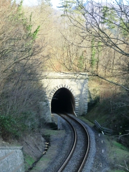 Castagno Tunnel western portal