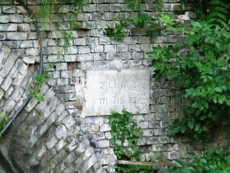 Ceva 2 Tunnel northern portal plate