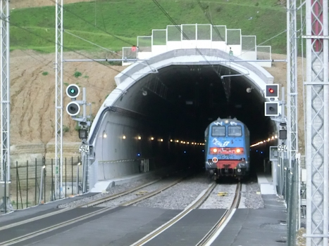 Collecervo Tunnel eastern portal