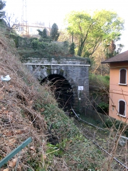 Corenno Tunnel northern portal