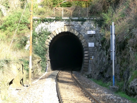 Corenno Tunnel southern portal