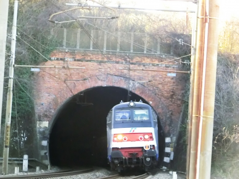 Croce Tunnel eastern portal