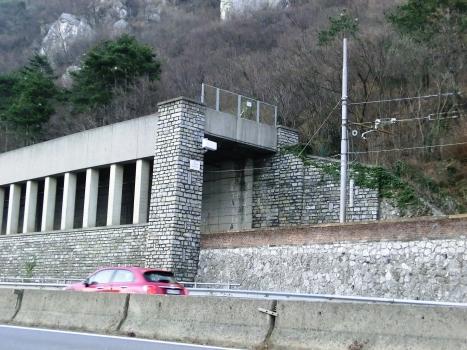 Crostone-Valle Rialba Tunnel southern portal