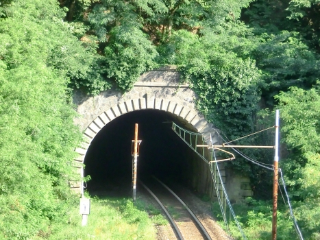 Del Paese Tunnel northern portal