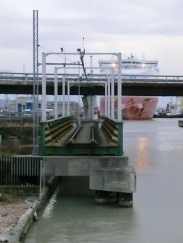 Fosso di Navicelli Railroad Movable Bridge and SGC FI-PI-LI Navicelli Viaduct