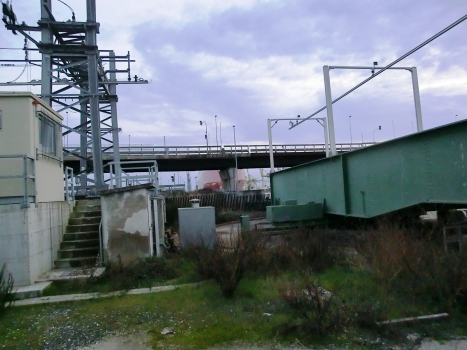 Fosso di Navicelli Railroad Movable Bridge