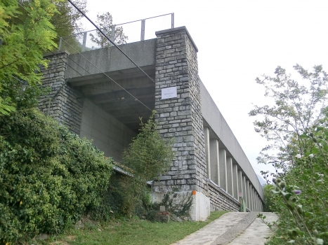 Francioso Tunnel northern portal
