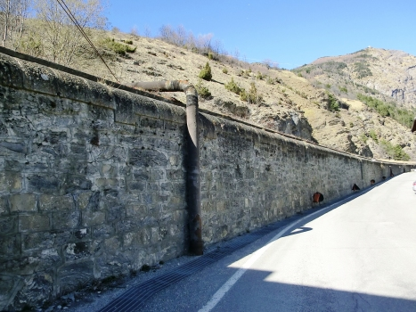 Frejus railway Tunnel , extended section in Bardonecchia