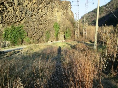 Grosse Pietre Tunnel western portal