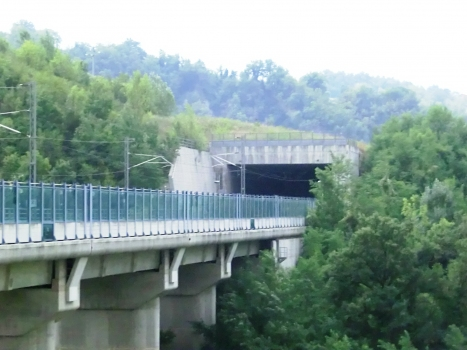 Laurinziano Viaduct and Laurinziano Tunnel northern portal