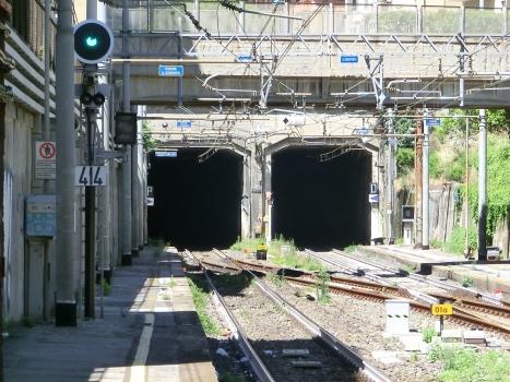 Mameli Tunnel eastern portals