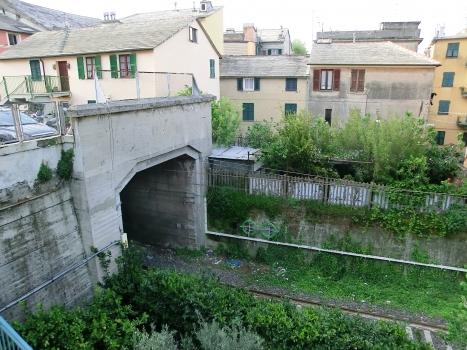 Mameli Tunnel western portal