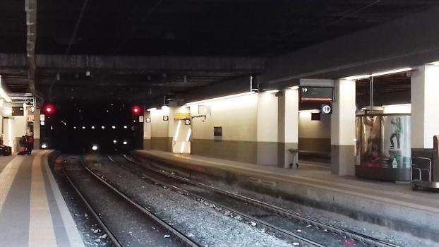 Mirabello Tunnel south-western portal
