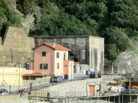 Túnel de Galleria Monterosso Ruvano binario dispari