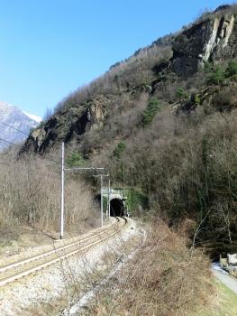 Monti di Tanno Tunnel southern portal