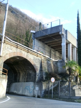 Pedfer-Vedrignanino Tunnel northern portal