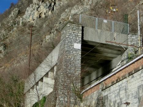 Pedfer-Vedrignanino Tunnel southern portal