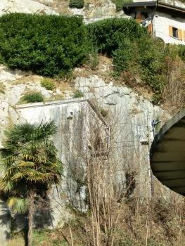 San Giorgio Tunnel southern portal