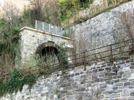 Santo Stefano Tunnel southern portal