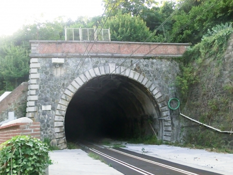 Santuario Tunnel lower portal