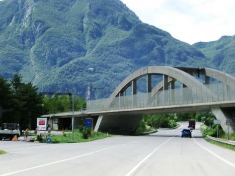 Eisenbahnbrücke über den Fella