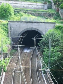 Torre Rossa Tunnel western portal