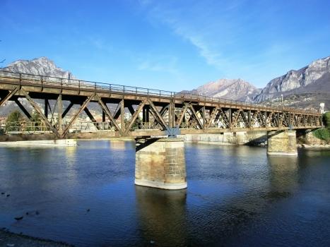 Eisenbahnbrücke Lecco