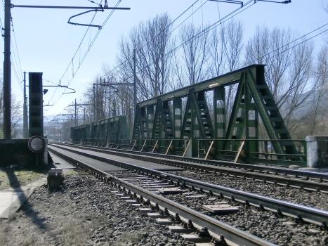 Eisenbahnbrücke Incisa