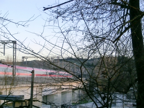 Eisenbahnbrücke Ciuffenna