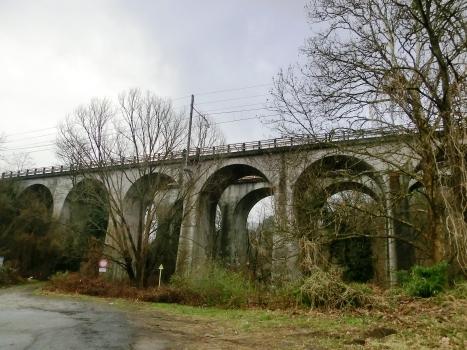 Eisenbahnbrücke Strona