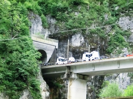 Eisenbahnbrücke über den Rio Ponte di Muro