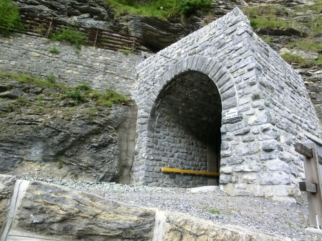 Glatscheras Tunnel northern portal