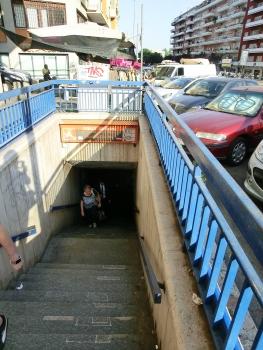 Colli Albani-Parco Appia Antica Metro Station access