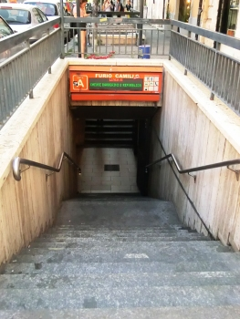 Metrobahnhof Furio Camillo