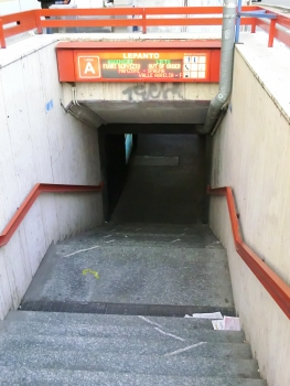 Metrobahnhof Lepanto