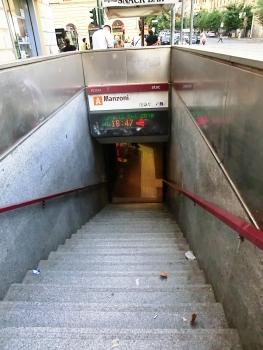 Station de métro Manzoni