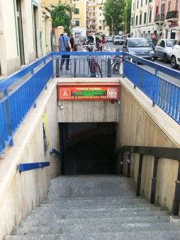 Station de métro Porta Furba - Quadraro