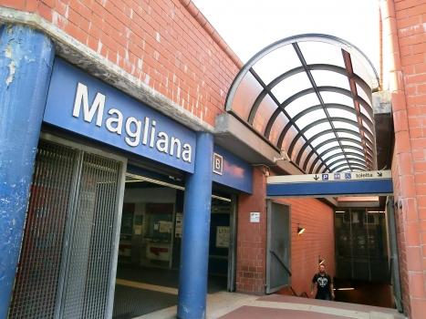 EUR Magliana Metro Station